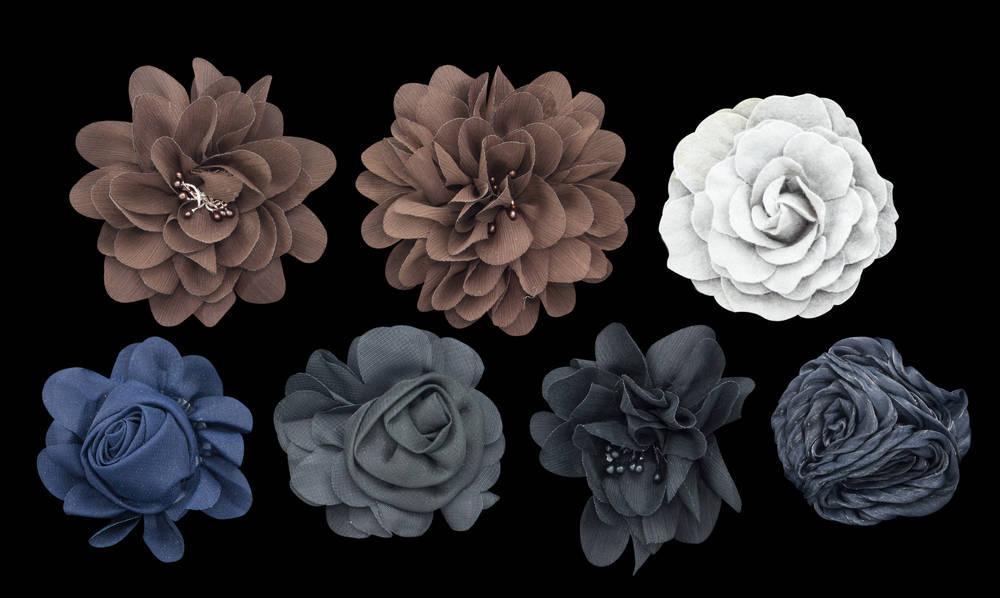 Especialízate en diseño de flores en tela