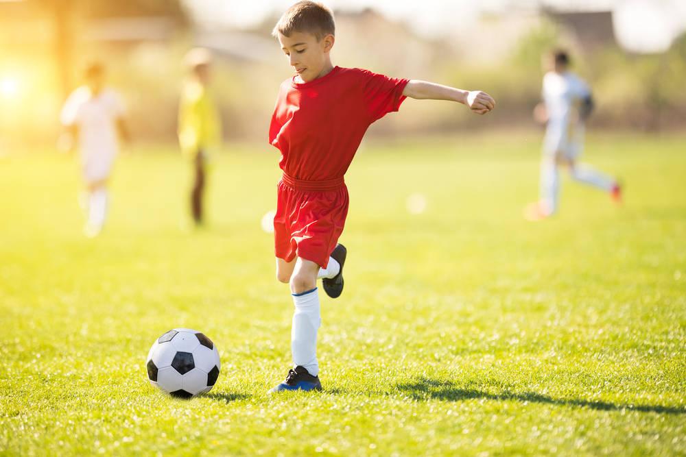 La formación para los niños en el deporte